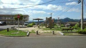 宮原官舎前の公園