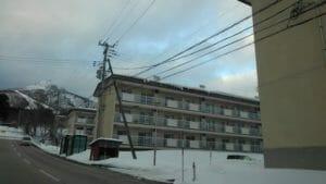 宇田下の宿舎